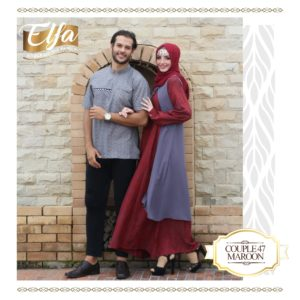 Couple 47 Maroon
