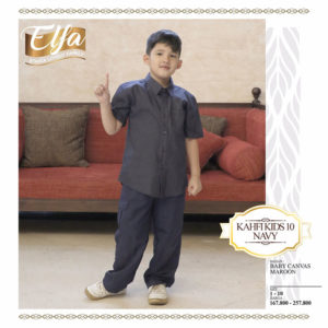 Kahfi Kids 10 Navy