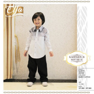 Kahfi Kids 26 Soft Blue