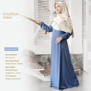 Kaleena Dress Light Blue