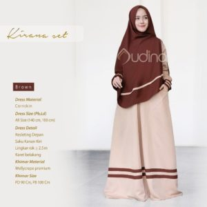 Kirana Set Brown