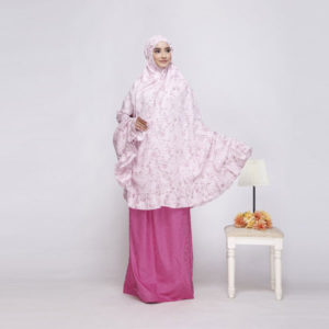 Mukena Nibras NM 01 Dusty Pink