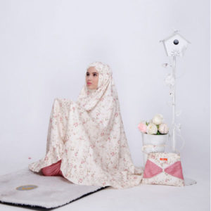 Mukena Nibras NMA 01 Dusty Cream