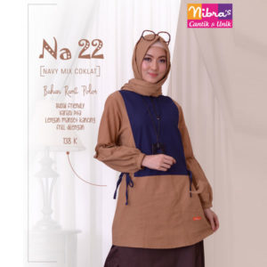 Nibras NA 22 Navy Mix Coklat