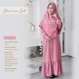 Sherina Set Dusty Pink