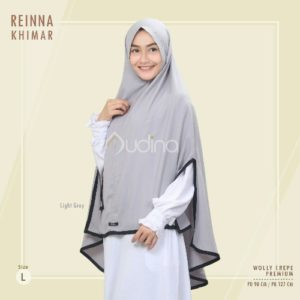 Reinna Khimar Light Grey