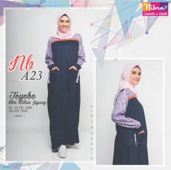 GAMIS NIBRAS NB A23 NAVY
