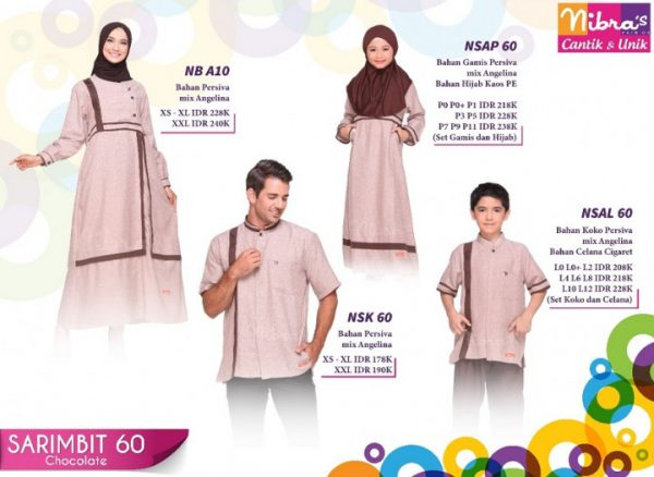 GAMIS NIBRAS NB A10 CHOCOLATE