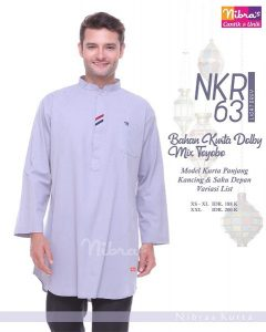 KOKO DEWASA NIBRAS NKR 63 LIGHT GREY