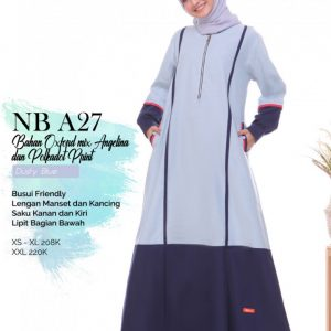 GAMIS NIBRAS NB A27 DUSTY BLUE