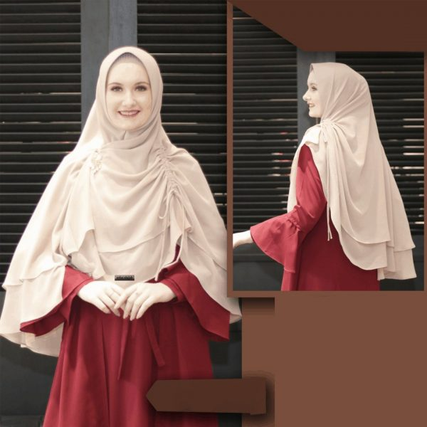 KHIMAR 03 DUSTY PEACH